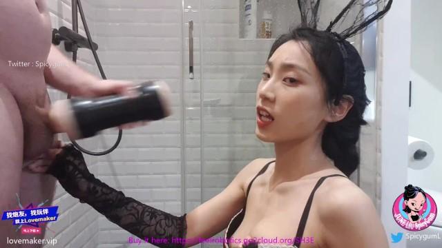 หนังเรทเอ็กซ์ SpicyGum ( June Liu ) น้องจูนหลิวกับของเล่นชิ้นใหม่ หีเทียมจิ๋มกระป๋องเสมือนจริง ขึ้นรูปจากหีตัวเอง ลองมาชักว่าวเย็ดควยแฟนคลับจนเสียวน้ำแตกก