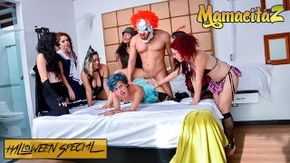 CarneDelMercado – HALLOWEEN Siarilin Martinez And Elisa Odiosa Latina Colombiana 3some – MAMACITAZ