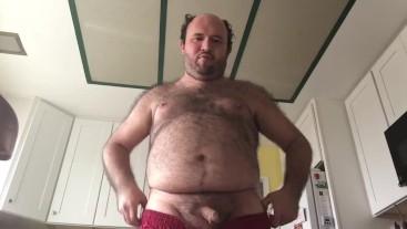 Sexy Kitchen Masturbation Video