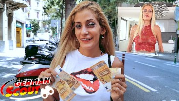 GERMAN SCOUT - SKINNY LATINA GABRIELA PICK UP AND ROUGH FUCK AT REAL PUBLIC CASTING PREMIUM 1