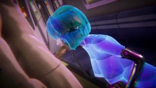 你的色情片 - Big Boobs 赛博朋克-与全息女孩做爱-3D色情