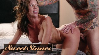 Sweet Sinner Sexy Redhead Milf Alexis Fawx Fucks Young Male Stud Small Hands