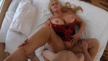 Big ASS Blonde Bimbo Milf With Giant Tits Rough Sex Karen Fisher