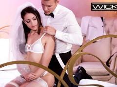 Wicked - Petite Bride Avi Love Fucked In Wedding Dress