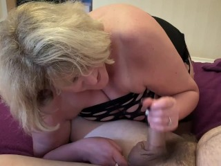 Nasty Big Tit Step Mom enjoys neighbours cock when husband is out.