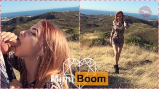 A Beautiful Day To Get a Blowjob on Top of The Mountain in South Spain – Mimi Boom