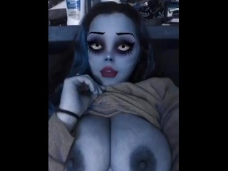 Exclusive/solo female/bride halloween filter corpse