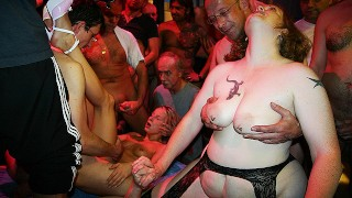 first party orgy for mom and stepdaughter