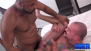 BREEDMERAW Ray Diesel Barebacks Inked Hunk After Eating Ass