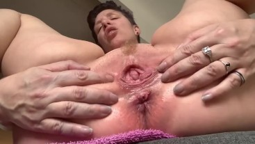 Brown Hole dirty jerk off