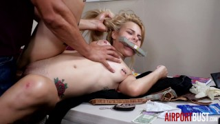 Rebel Teen Blows Older Officer for Fun