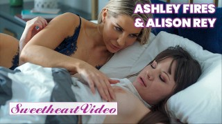 Sweetheart – Stepmom Alison Rey Makes eats out Stepdaughter Ashley Fires