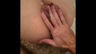 Pumped pussy fisting fuck