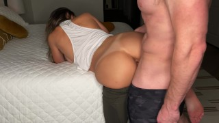 After workout dry hump and horny fuck in Lulu yoga pants. He came deep. Love to get fucked like this