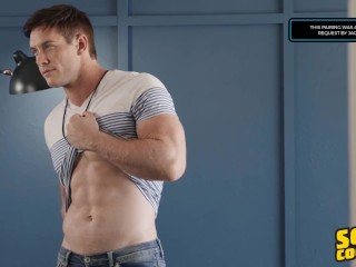 Sean Cody – Tall Muscular Man Fucks His Roommate In The Ass For The First Time