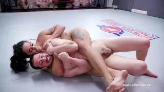 Полное Бесплатное порно фильмы - Evolved Fights Dominating Mixed Wrestling Match As Miss Demeanor Beats Fluffy Then Fucks