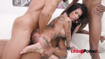 Tattooed slut Megan Inky swallows anal creampies - full the scene on Legalorno