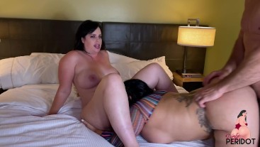 PAWG Virgo Peridot and Betty Bang Get Drilled by JMAC Huge Cock