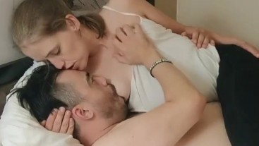 Milk White & Sweet Part 1 - sensual kissing, loving nursing, interrupted by a call