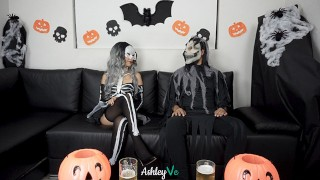 halloween party surprise sex on costume – ashley ve