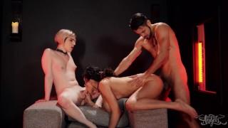 Darmowe filmy porno - Trans Angels Ts Ella Hollywood I Alisia Rae Dzielą Trójkę Na Halloween