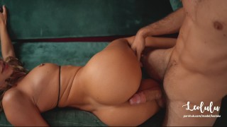 Homemade intense sextape of passionate couple - Amateur LeoLulu