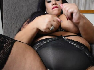 Sasha Love Solo Play Latina BBW Wet Pussy