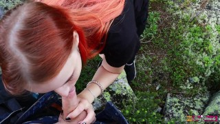 Sex And Blowjob In The Mountains With Beautiful Teen Girl – Stacy Starando