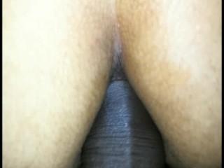 Lesbianas en 69 y una de ellas termina con mi verga en su culo