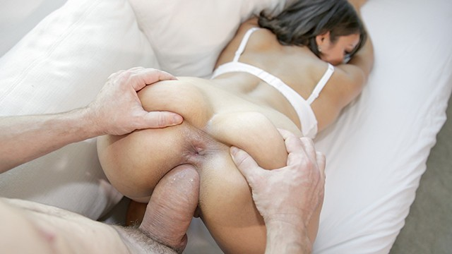 PUREMATURE Open Minded Big Tit Housewife Tries Anal