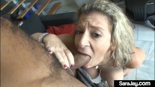 PAWG Pussy Fucked Sara Jay Gets Dicked By A Raging Hard Cock