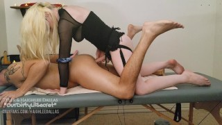 Haighlee's Pet Gets Massaged and Fucked Hard Loud Male Moaning Deep Thrusting OurDirtyLilSecret
