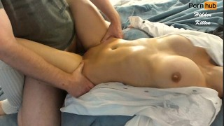Порнуха - Big Boobs He Pours Water All Over My Tits And Fucks Me Hidden Kitten In Wet Dress