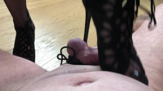 Pain play lessons with MissV. (CBT edition) Full movie on my model hub