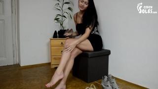 Porno Videa - Sexy Předvečer Bohyně Nohou Dospívající Chodidla Vysoké Podpatky Sexy