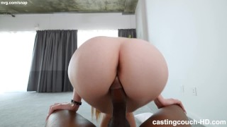 PAWG Trying To Fuck Her Way Into A Rap Video