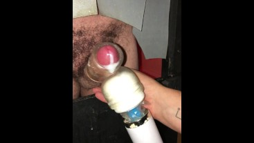 3 Gloryholes – all decent hung lads – Loads of spunk. The Blackpool Playroom, The Cell and The Playr