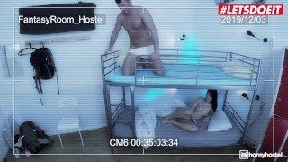 HornyHostel - COCK SUCKING COMPILATION! Hot Babes Love Sucking All These Big Cocks - LETSDOEIT