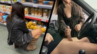 Volledige gratis pornofilms - Naïef Meisje Uit De Winkel Betrapte Me Op Masturberen Op De Openbare