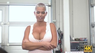 RIM4K. Only good anilingus by remarkable lady can cheer man up