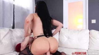 PORNSTARPLATINUM Busty Tits Jasmin Jae Sprayed After Pounding