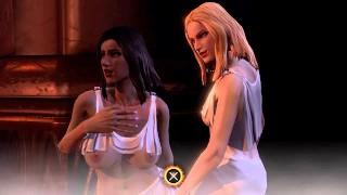 God of War 3 Sex Scene [4K]