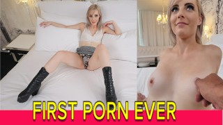 First Time AMATEUR Jaime Jett Sucks & Fucks Cock Like A Pro – Team Skeet Premiere