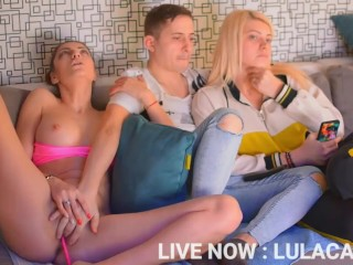 I WILL LET MY HANDSOME ROOMMATE TO FINGER MY WET PUSSY (ROLE PLAY) - NEXTDOORNURS3