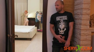 Sheryl X – She grabbed his dick and fucked him