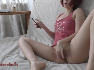 my boyfriend doesn't know i'm secretly masturbating on camera