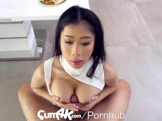 CUM4K Big Tit Asian Jade Kush Filled With Heavy Cum