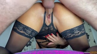 I Denied His Penetration & Sat On His Face. He Fucked Me Hard Until Screaming Orgasm. Adeline Murphy