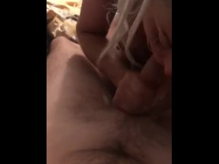 SUCK. LICK. GAG. SHE TAKES IT ALL