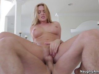 Naughty America – Big Tits Masseuse Krissy Lynn Rubs And Tugs James Deen